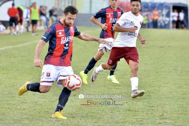 Leo Guaita, prima rete con la maglia del Taranto