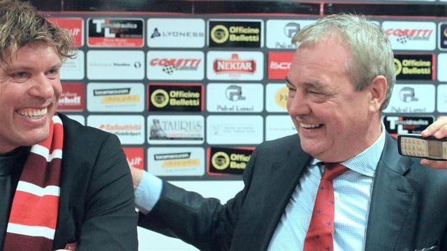 Mauro Biasin col cugino Mauro Milanese