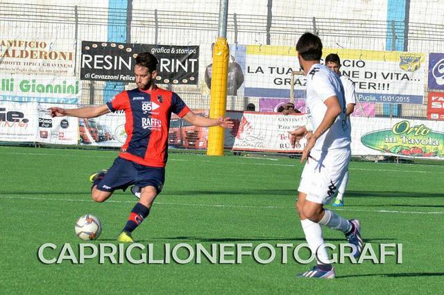 Davide Corso, centrocampista del Taranto