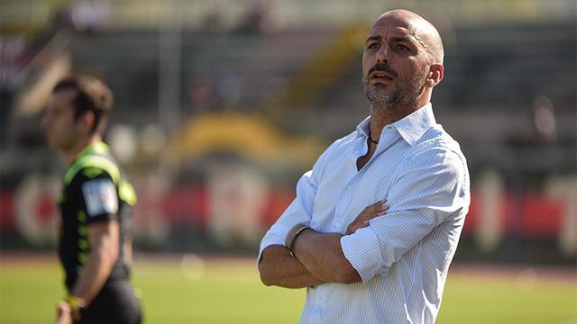 Roberto Taurino, allenatore del Bitonto