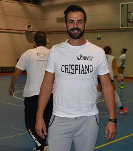 Enzo Contento, coach di Crispiano