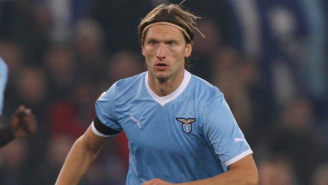 Marius Stankevicius con la maglia della Lazio