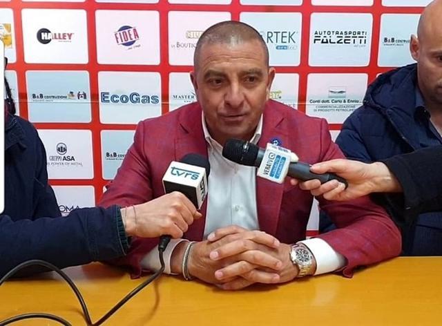 Mauro Canil, presidente del Matelica