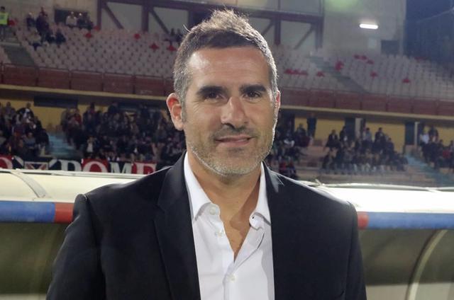 Cristiano Lucarelli, allenatore del Catania - Foto Francesco Donato
