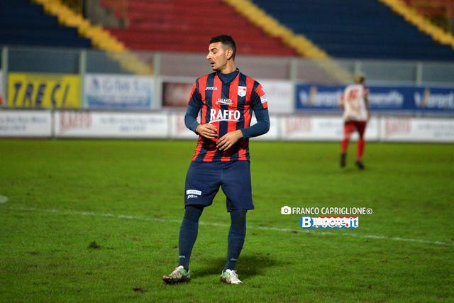Antonio Croce alla prima con la maglia del Taranto
