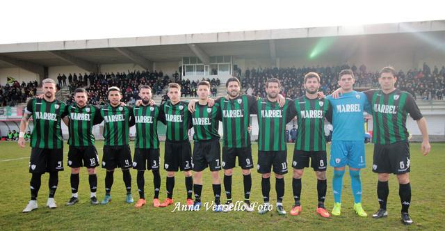 Il Bitonto che ha cominciato la sfida con la Sarnese - Foto Bitonto Calcio