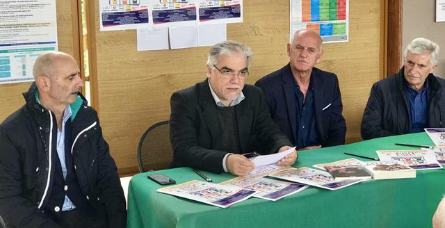 Da sinistra: Luigi Capillo, Leo Spalluto, Nico Traversa ed Enzo Sferra