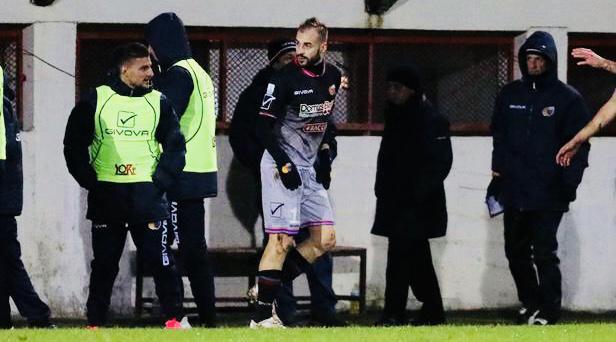 Davis Curiale, attaccante del Catania e nuovo re dei bomber del Girone C della C - Foto Francesco Donato