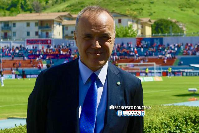 Mauro Balata, presidente della Lega B