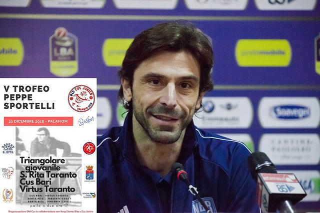 Alberto Morea, assistent coach di Brindisi