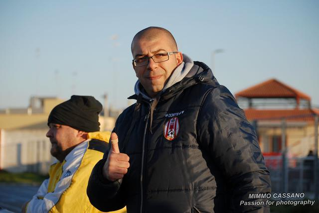 Pasquale D'Alena, allenatore del Castellaneta - Foto Mimmo Cassano