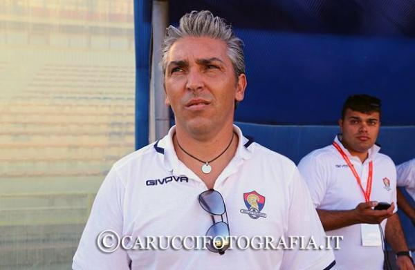 Francesco Latartara, allenatore della Juniores del Taranto