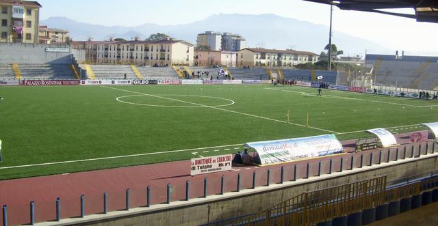 Una veduta dello stadio Giraud di Torre Annunziata