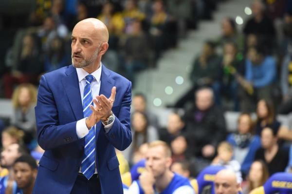 Frank Vitucci, allenatore di Brindisi - Foto New Basket Brindisi