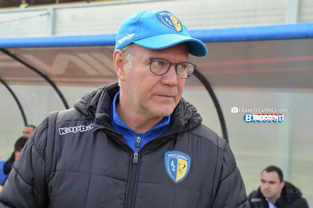 Dino Bitetto, allenatore del Cerignola