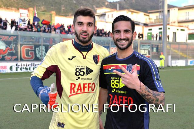 Paolo Pellegrino con Stefano D'Agostino, due protagonisti della passata stagione
