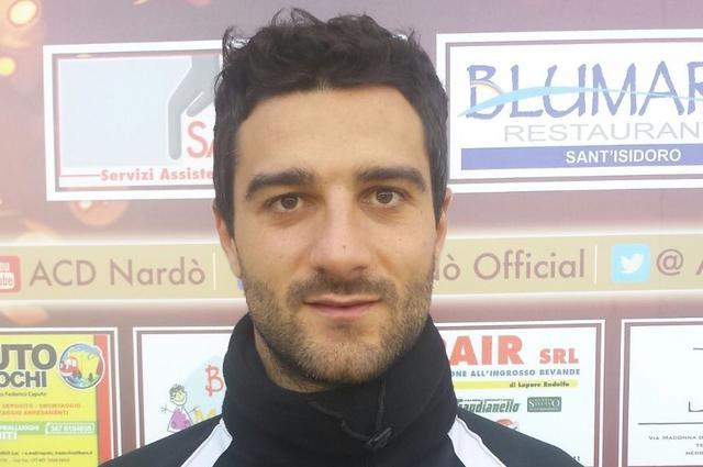 Alberto Rescio, centrocampista del Casarano