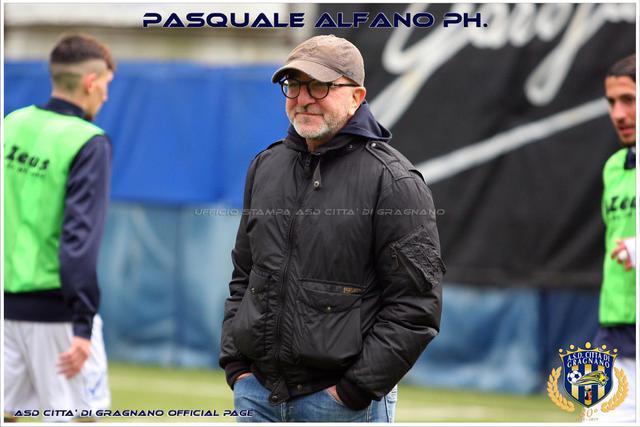 Rosario Campana, allenatore del Gragnano