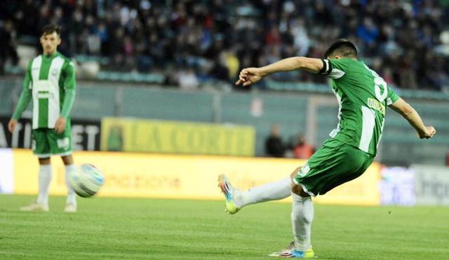 Capitan Scoppa: il suo gol ha illuso il Monopoli per 42 minuti