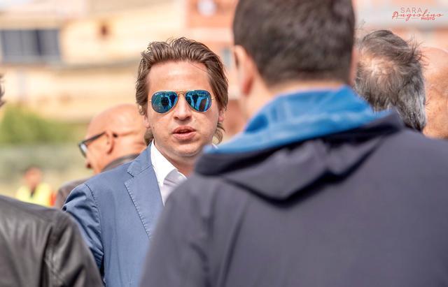 Nicola Grieco, presidente del Cerignola - Foto Audace Cerignola Pagina Facebook