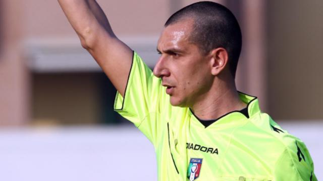 Fabio Pasciuta, arbitro di Virtus Francavilla-Matera