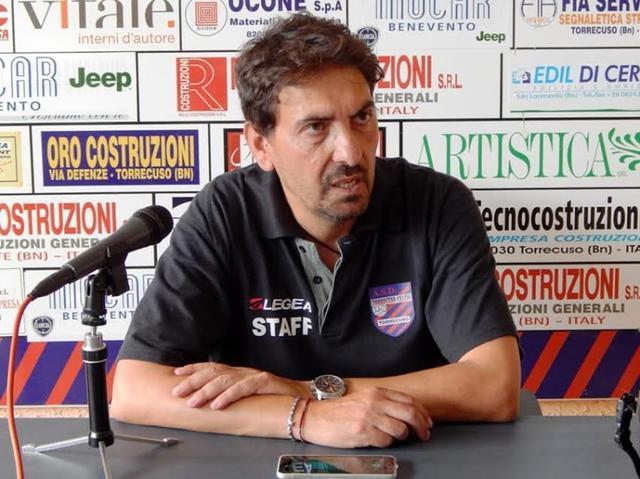 Francesco Farina, allenatore dell'ambizioso Cerignola