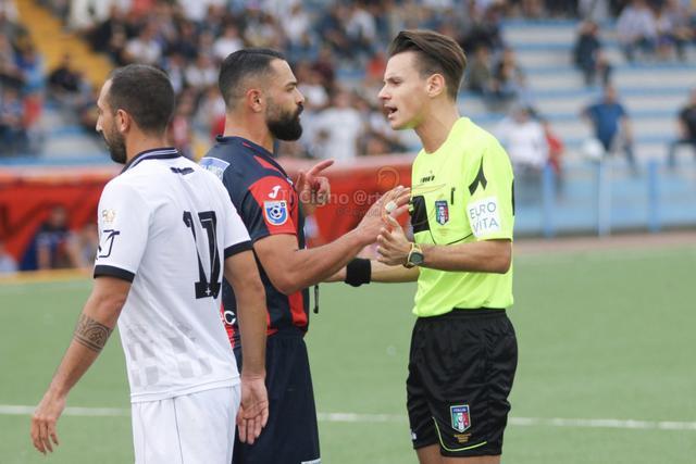 Francesco Croce, arbitro di Savoia-Taranto - Foto Il Cigno @rt