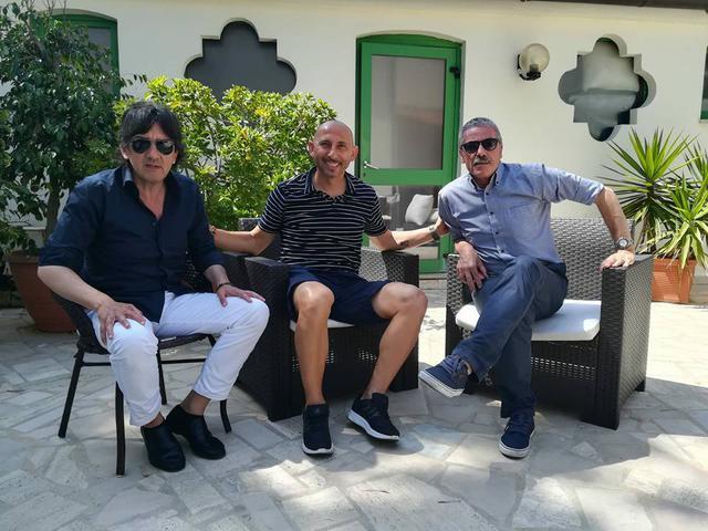 Da sinistra: Nicola Dionisio, Danilo Rufini ed Enzo Carbonella