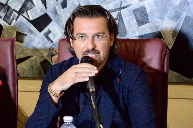 Antonio Magrì, presidente della Virtus Francavilla - Foto Gianni Di Campi