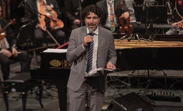 Piero Romano, direttore artistico dell'orchestra Magna Grecia