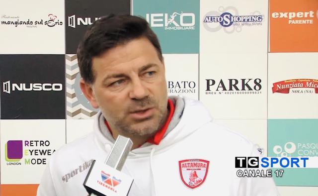 Ciccio Cozza, allenatore della Team Altamura