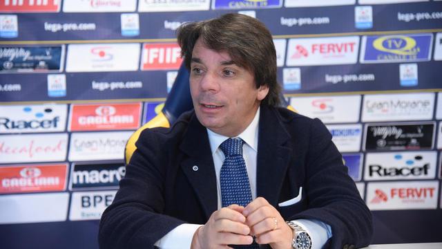Eziolino Capuano, allenatore del Rieti
