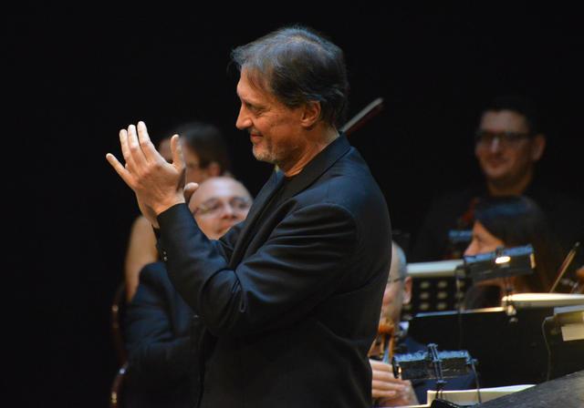 Maurizio Lomartire, consulente artistico dell'orchestra Ico della Magna Grecia