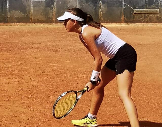 La tennista grottagliese Francesca Viola