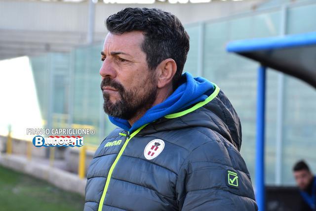 Salvatore Campilongo, allenatore del Savoia