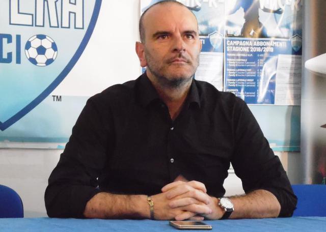 Nicola Andrisani, presidente del Matera - Foto Tuttomatera.com