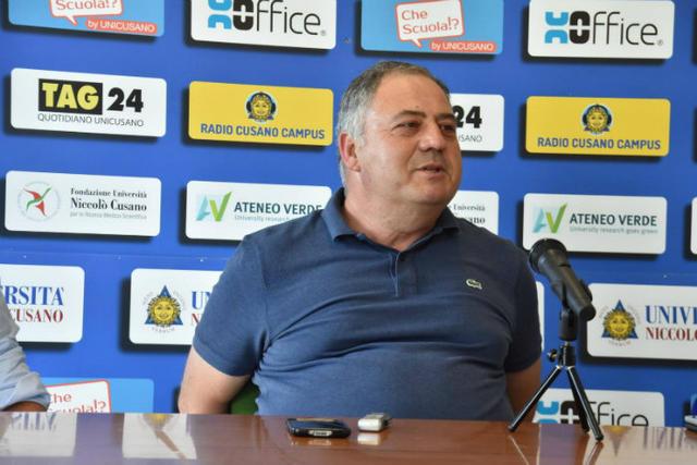 Antonio Pezone, presidente del Racing Aprilia