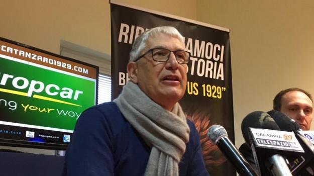 Floriano Noto, presidente del Catanzaro