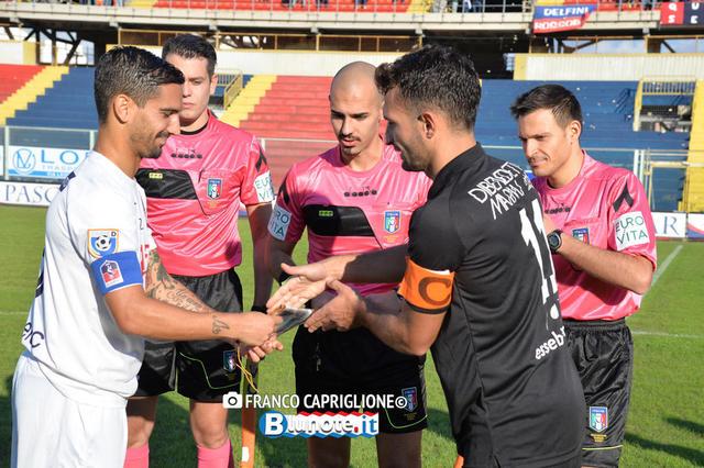 Antonio Costanza ha già diretto il Taranto in questa stagione, in occasione del match casalingo con il Gravina