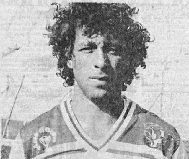Salvatore Pesce in una foto di 32 anni fa