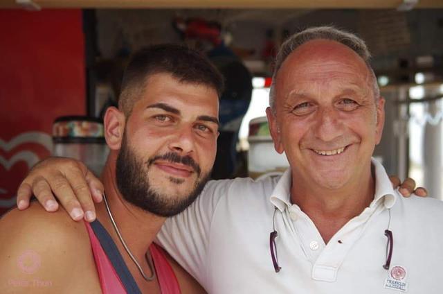 Francesco Lella e Virgilio Pantile, organizzatori del torneo del 18 agosto