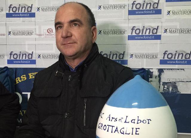 Carmelo La Volpe, patron del Grottaglie