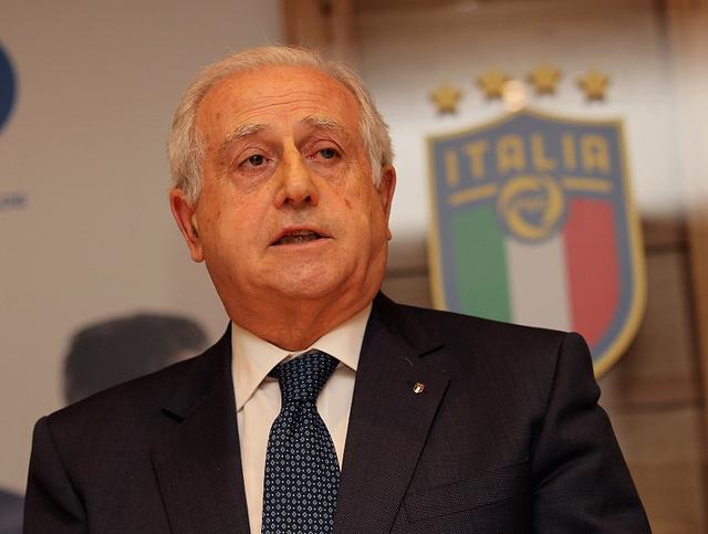 Roberto Fabbricini, commissario della Figc