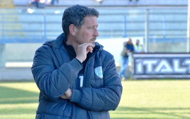 Bruno Trocini, allenatore della Virtus Francavilla - Foto Gianni Di Campi