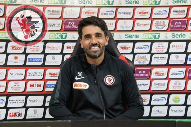 Gianluca Grassadonia, allenatore del Foggia - Foto foggiacalcio1920.it