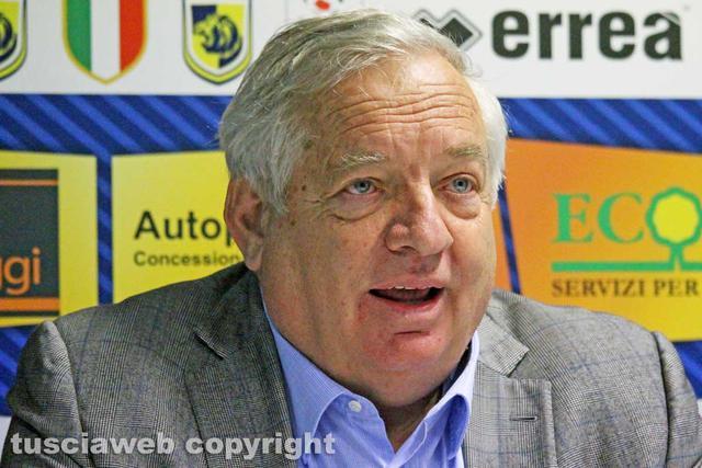 Piero Camilli, patron della Viterbese - Foto Tuscia Web