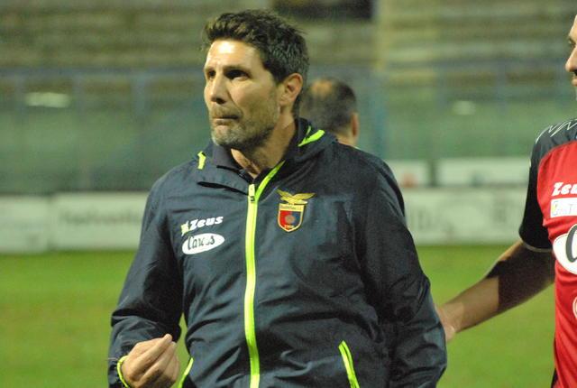 Gaetano Fontana, allenatore della Casertana - Foto Gianni Di Campi