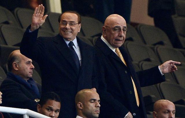 Silvio Berlusconi e Adriano Galliani, proprietari del Monza