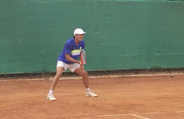 L'argentino Valentin Florez, vincitore dell'edizione 2015 del Città di Taranto