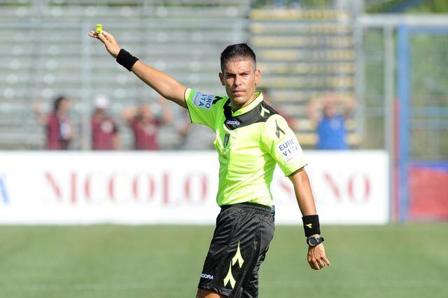 Nicolò Cipriani, arbitro di Virtus Francavilla-Casertana